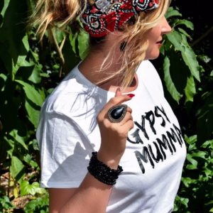 THE GYPSY MUMMA WHITE TEE