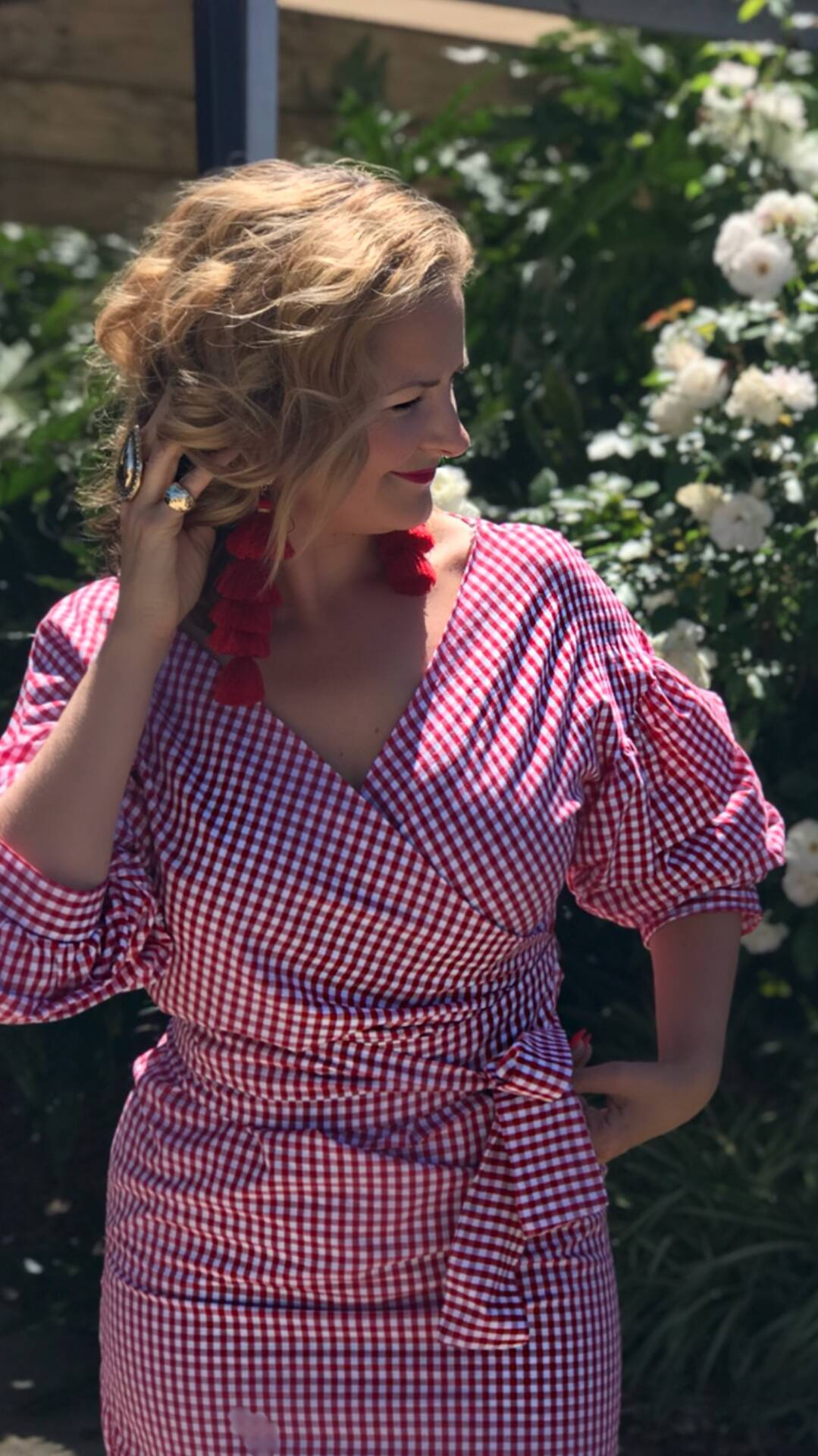 Summer Style - Ruffles, Check and Red
