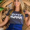 Gypsy Mumma tee - Vintage Grey