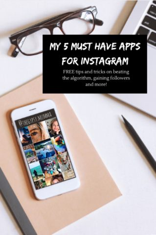 My 5 Must Have Apps for Instagram