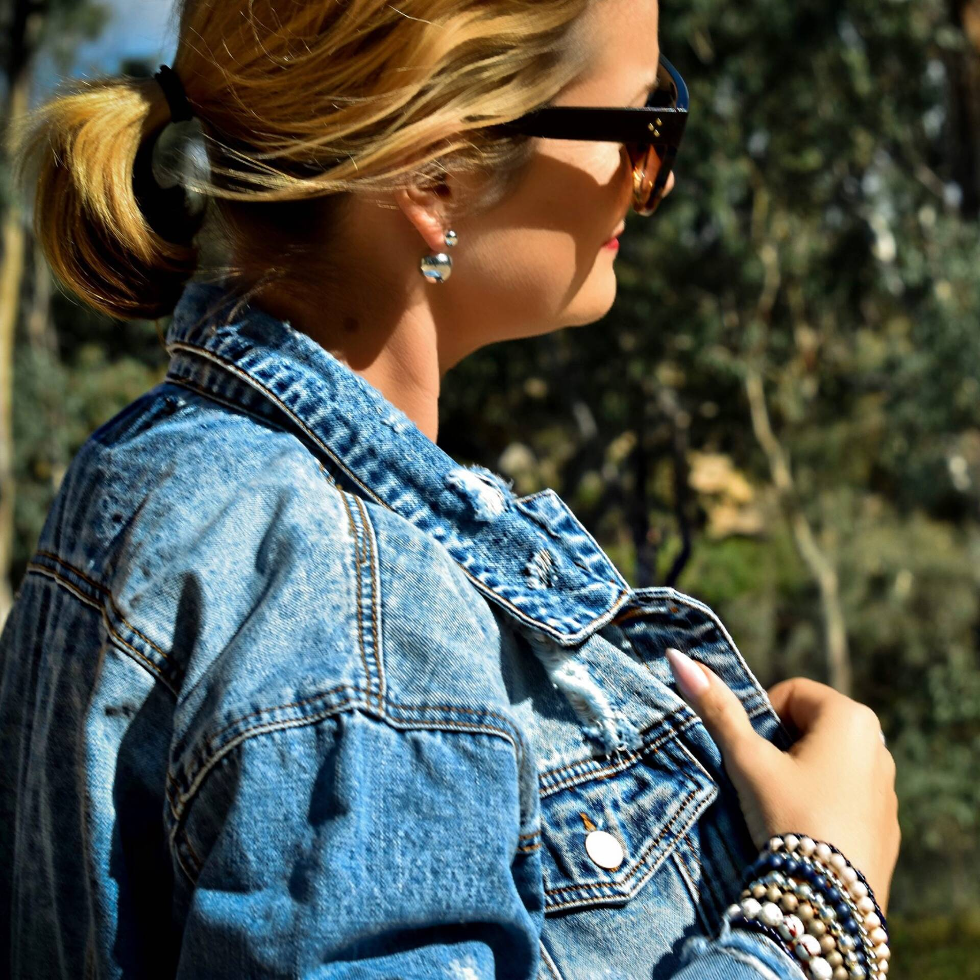 ootd - casual outfit denim jacket