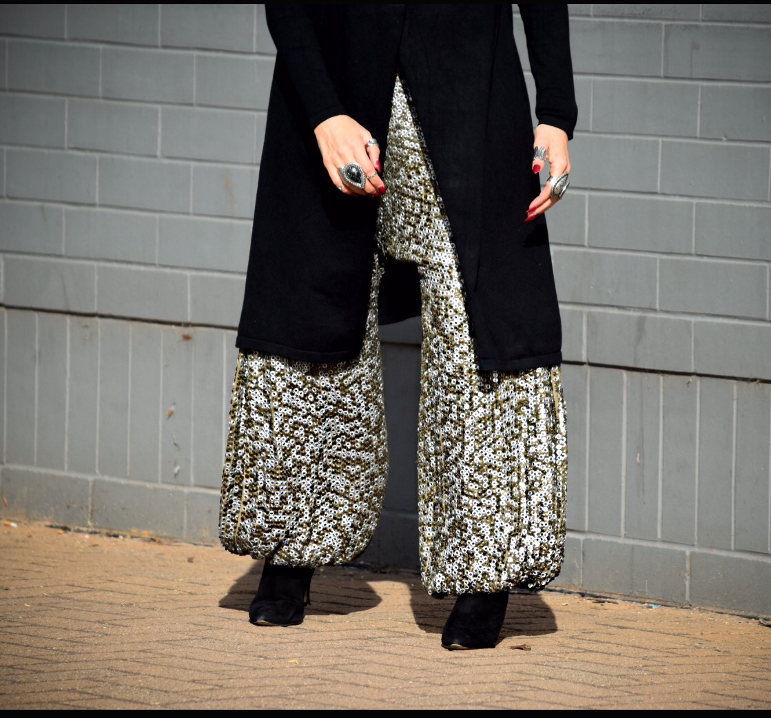 Sequin Pants - ready to dance
