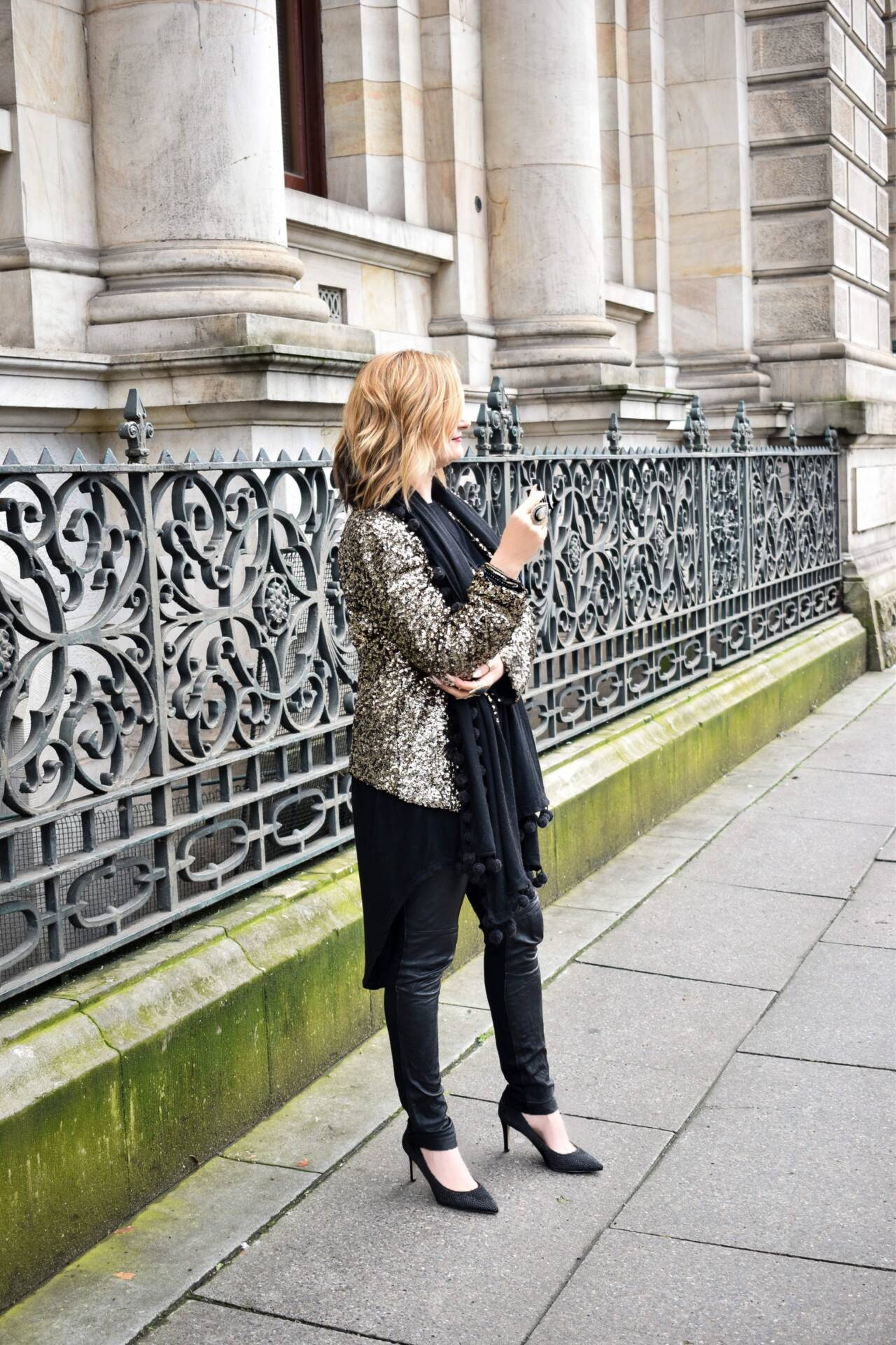 Sequin Jacket - Streetstyle