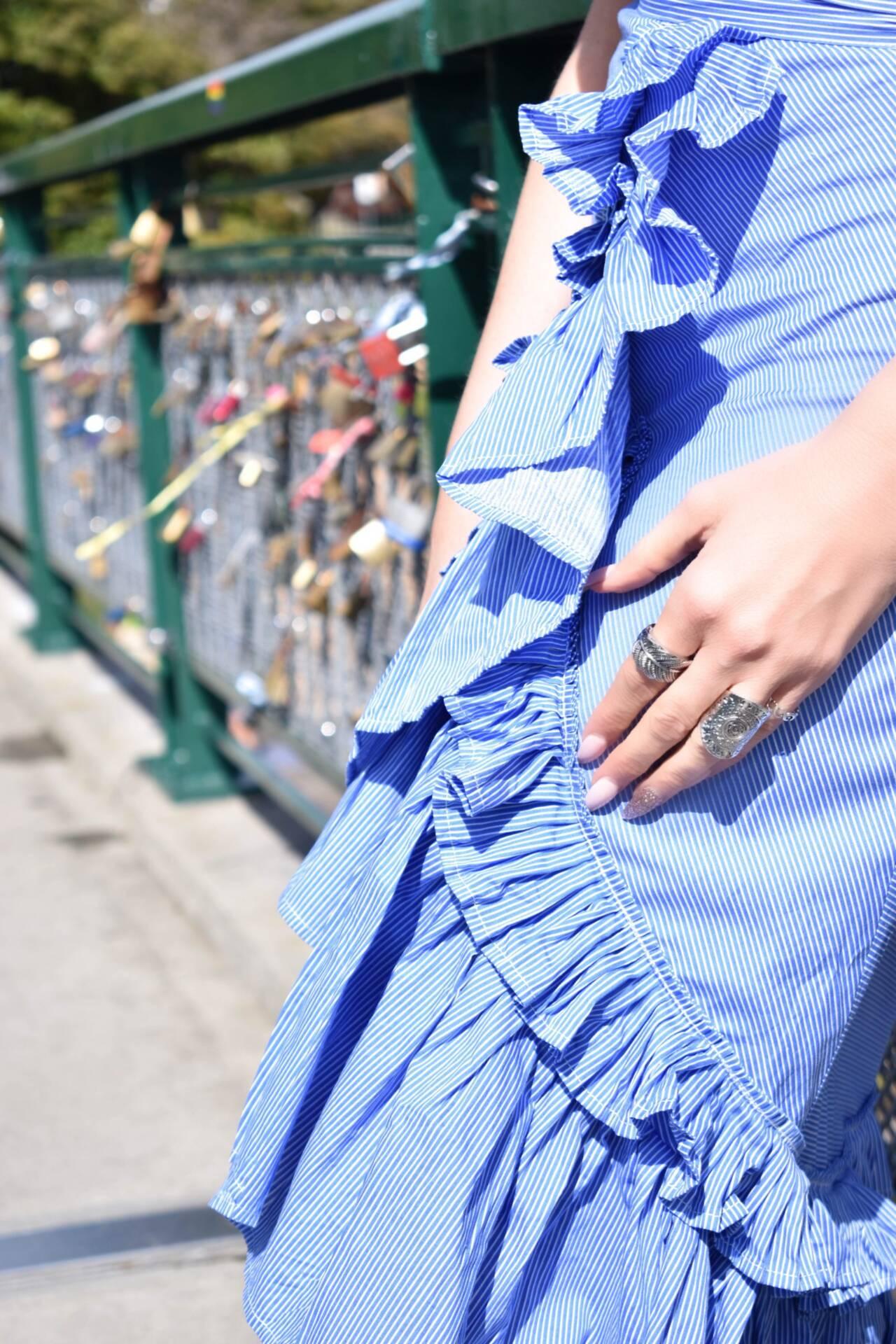 Spring Fashion- Ruffles and Stripes