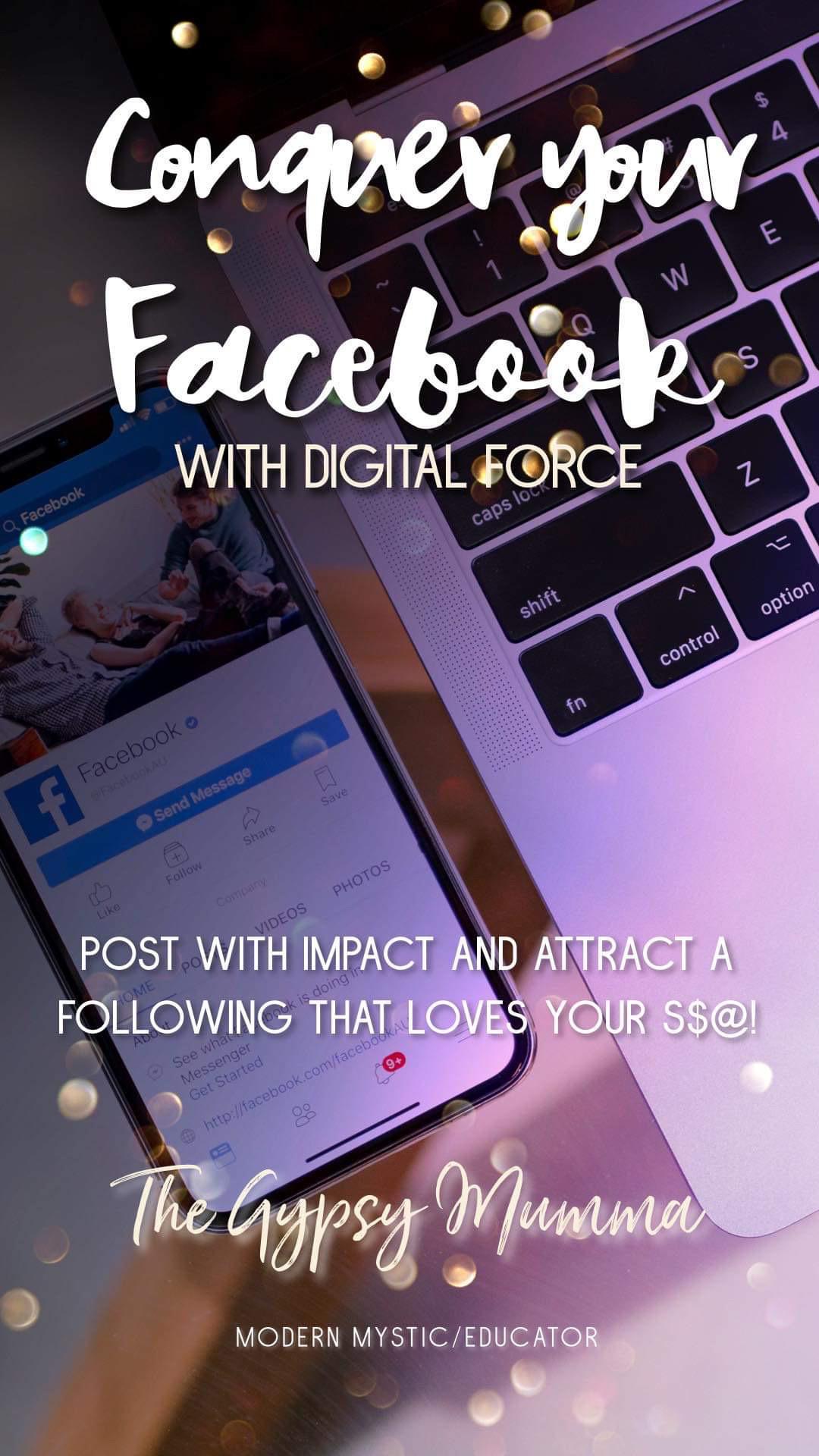 Conquer your Facebook