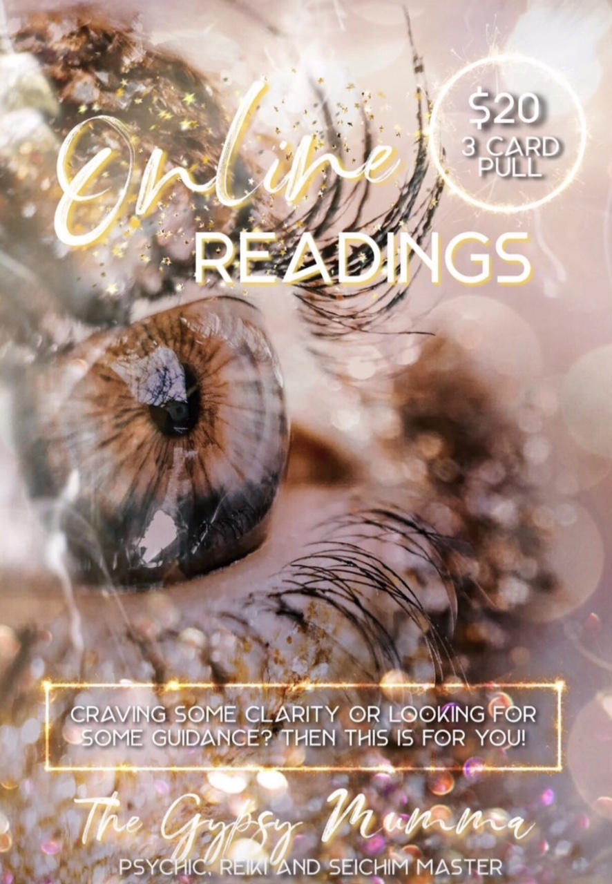 Online Readings Poster